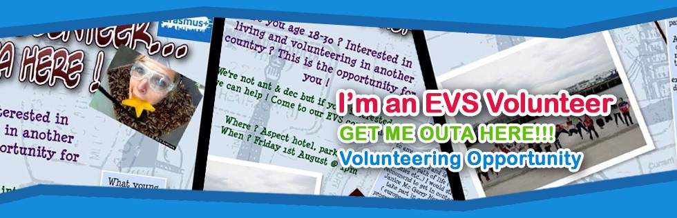 I'm an EVS volunteer...